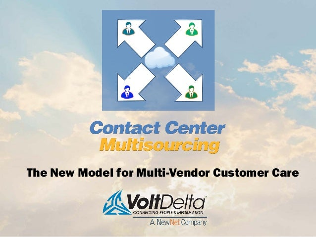 The New Model for Multi-Vendor Customer Care