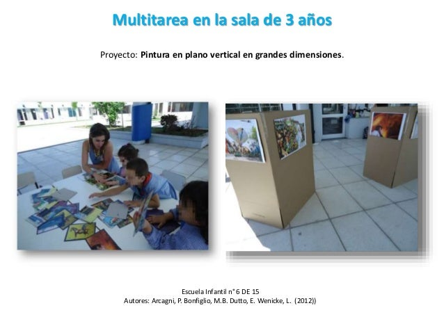 Multitarea en maternal ppt clase 2 for Actividades para jardin maternal