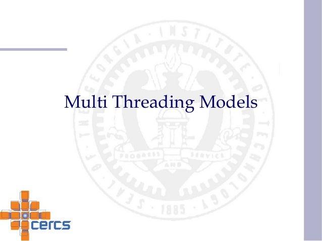 Multi Threading Models