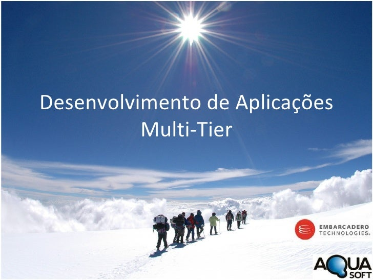 Desenvolvimento de Aplicações Multi-Tier