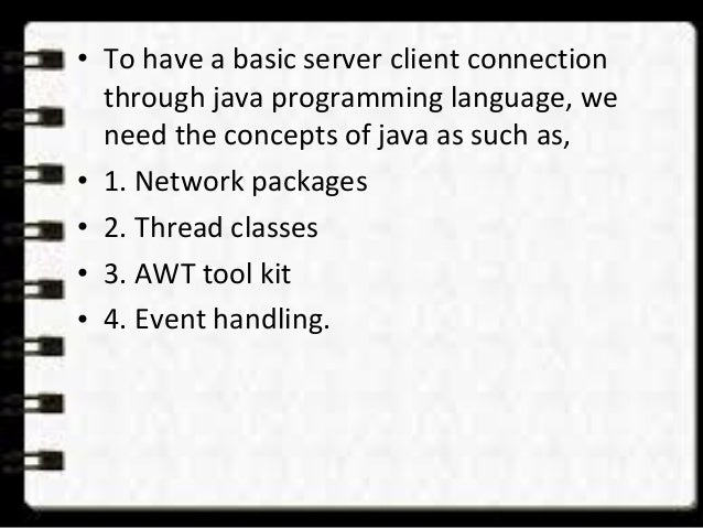 multi user chat system using java 7
