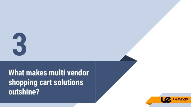 MULTI VENDOR SHOPPING CART|LARAVEL ECOMMERCE