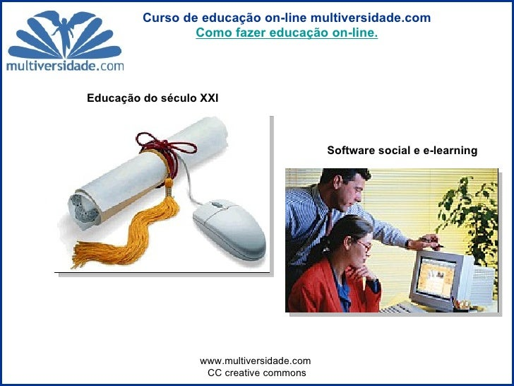 Educação do século XXI   Software social e e-learning
