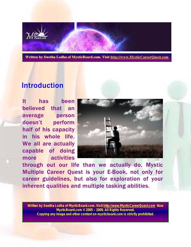 Multple Careers Slide 3
