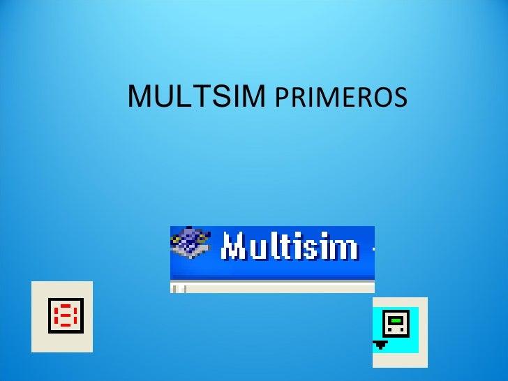 MULTSIM  PRIMEROS