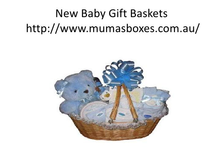 New Baby Gift Basketshttp://www.mumasboxes.com.au/ ...
