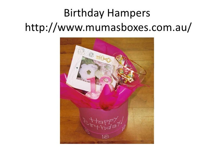 Mumas Boxes Gifts Hampers Sydney