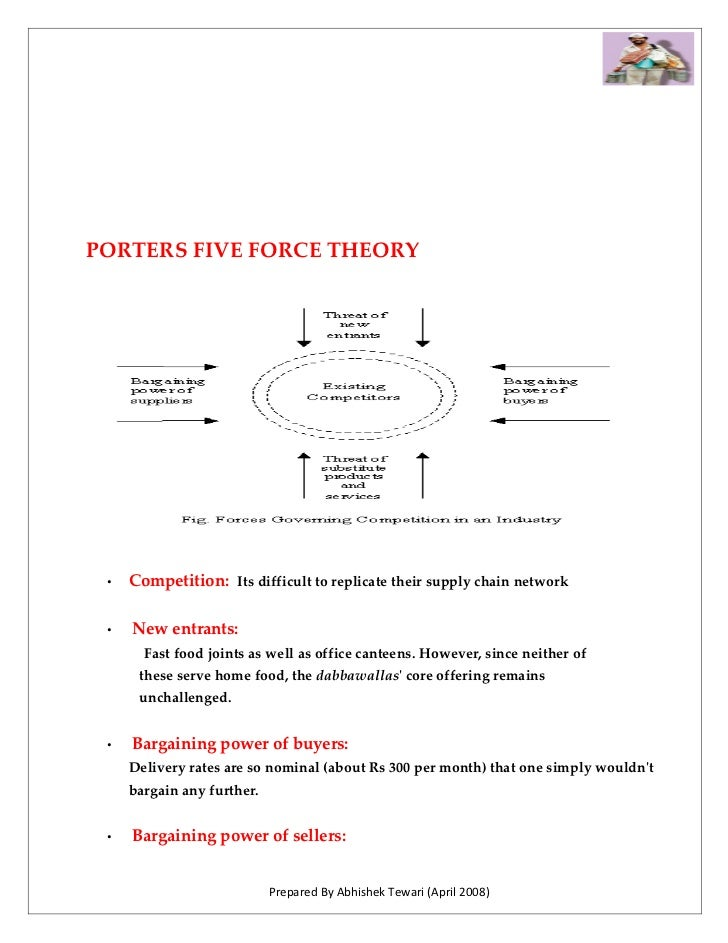 PORTERS FIVE FORCE THEORY      •   Competition: Its difficult to replicate their supply chain network   •   New entrants: ...