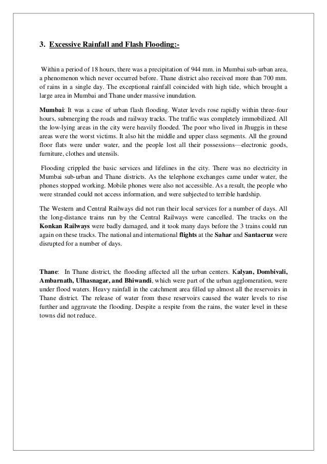 long essay on flood in hindi