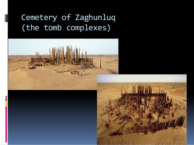 Cemetery of Zaghunluq (the tomb complexes)