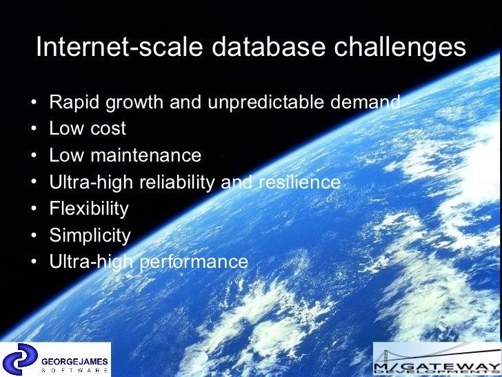 Mumps the Internet scale database Slide 3