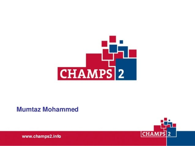 Mumtaz Mohammed  www.champs2.info