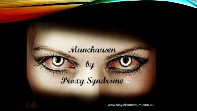 an introduction to the mental disorder munchausen by proxy Munchausen syndrome is a psychiatric disorder that causes an individual to  in  a variation of the disorder, munchausen by proxy (msbp), an individual,.