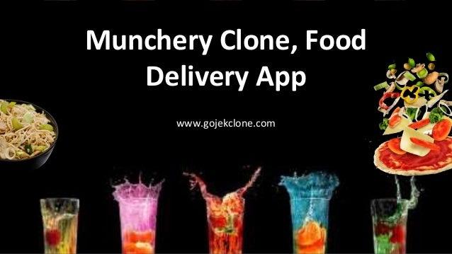 Munchery Clone, Food Delivery App www.gojekclone.com