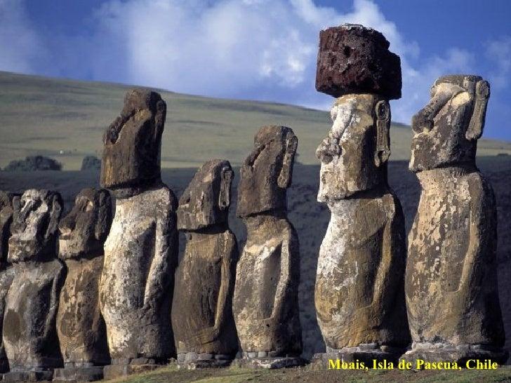 Moais, Isla de Pascua, Chile