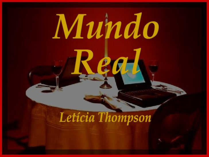 Mundo Real Letícia Thompson
