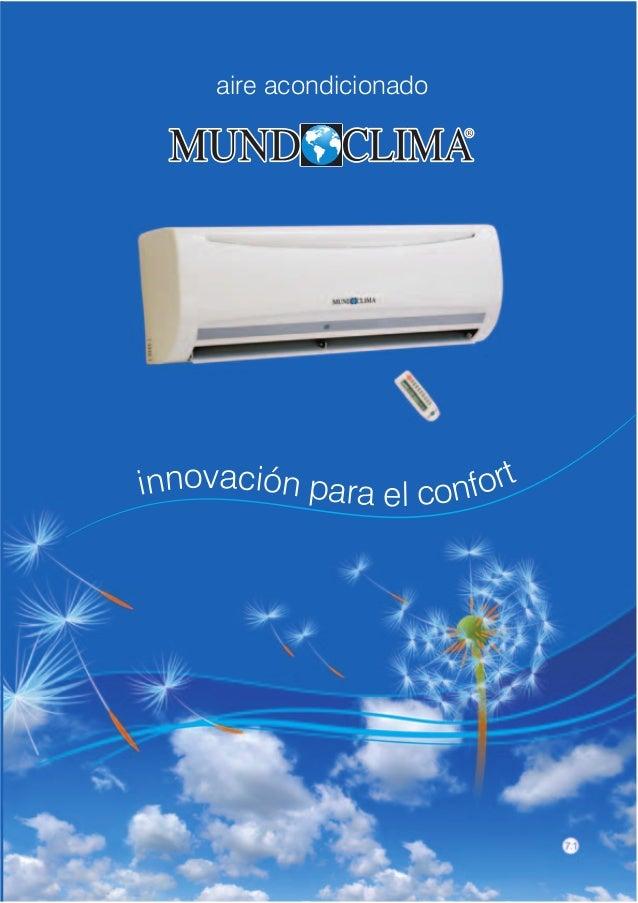 aire acondicionadoinnovación para el confort