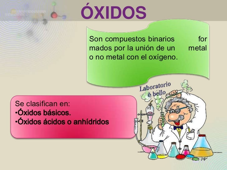 Mundo de los oxidos Slide 2