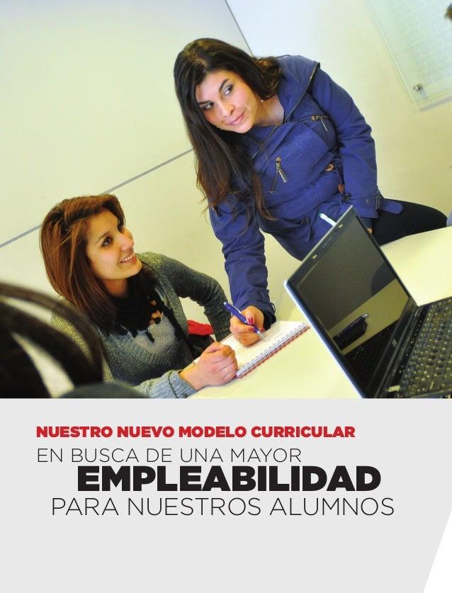 nuestro nuevo modelo curricular  En busca de una mayor  empleabilidad  para nuestros alumnos  inacap 1.indd 14  11/8/13 3:...