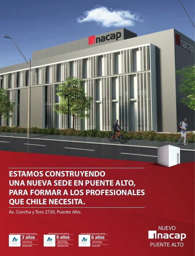 06  foco en sedes::  ESTAMOS CONSTRUYENDO UNA NUEVA SEDE EN PUENTE ALTO, PARA FORMAR A LOS PROFESIONALES QUE CHILE NECESIT...