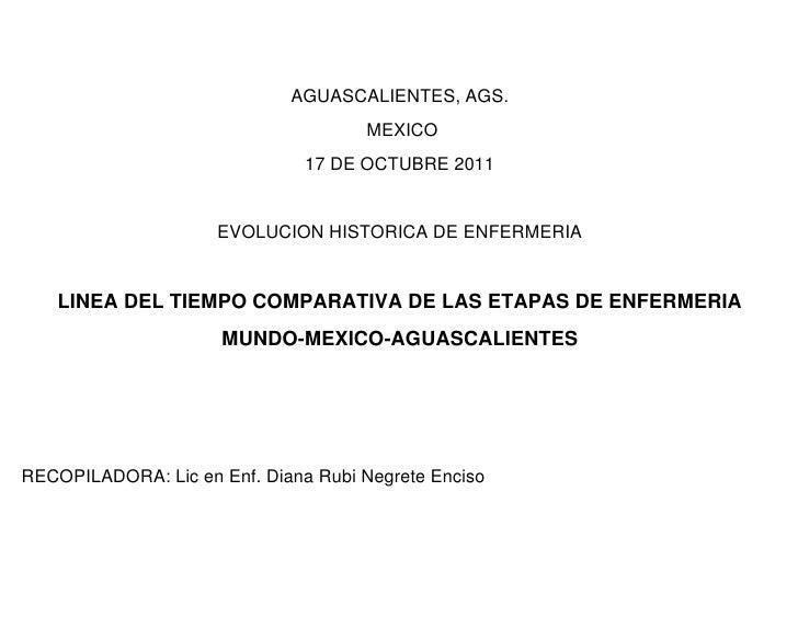 AGUASCALIENTES, AGS.                                     MEXICO                               17 DE OCTUBRE 2011          ...