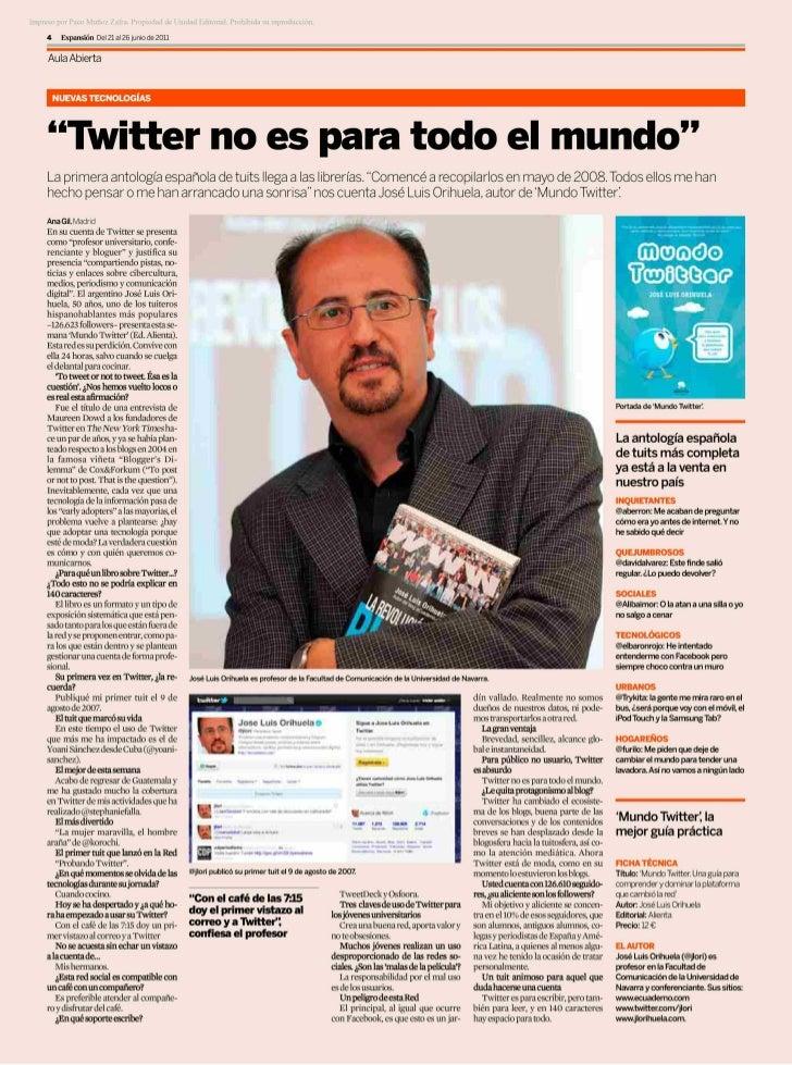 Mundo twitter expansion