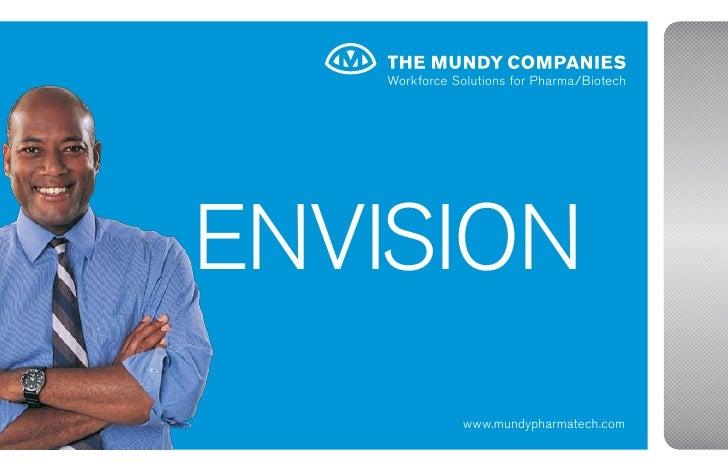 Workforce Solutions for Pharma/Biotech     EnviSion                www.mundypharmatech.com