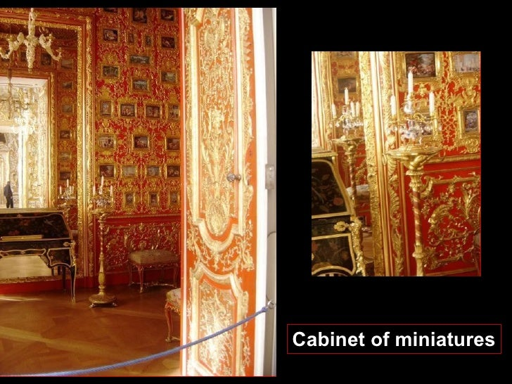 Cabinet of miniatures