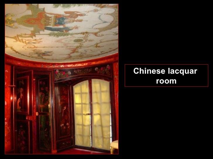 Chinese lacquar  room