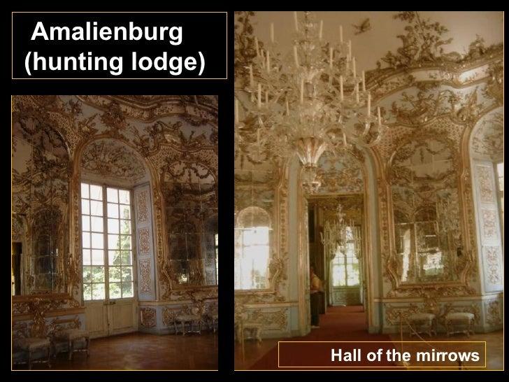 Hall of the mirrows Amalienburg (hunting lodge)