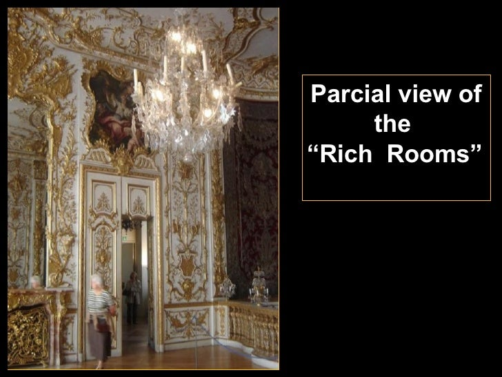"""Parcial view of the  """" Rich  Rooms"""""""