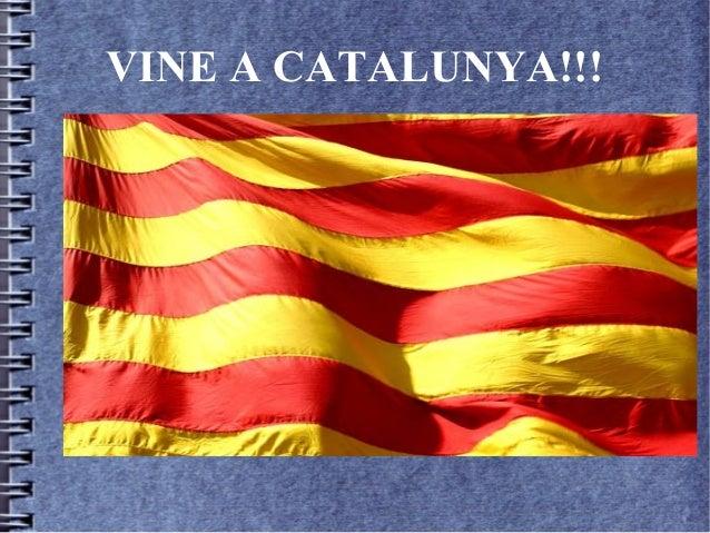 VINE A CATALUNYA!!!