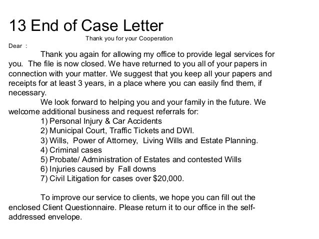 Ending Thank You Letters Sample Thank You Letter To Real Estate