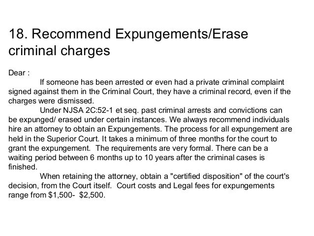 Expungement letter of recommendation roho4senses expungement letter of recommendation spiritdancerdesigns Images