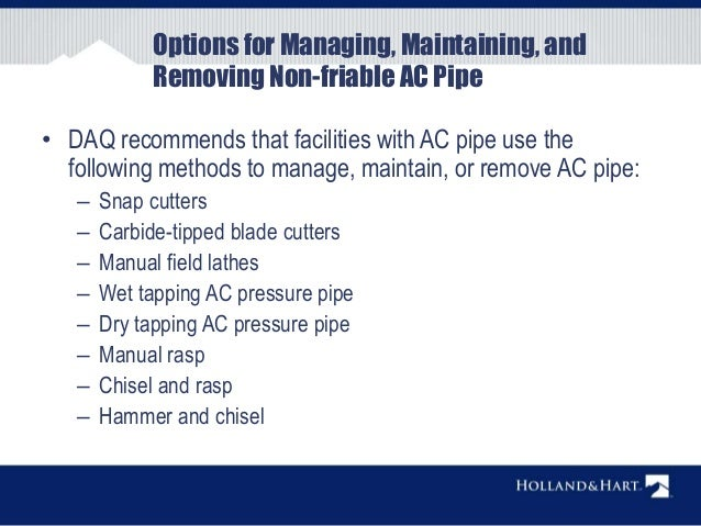 Municipal Water Systems and AC Pipe - Kevin R  Murray