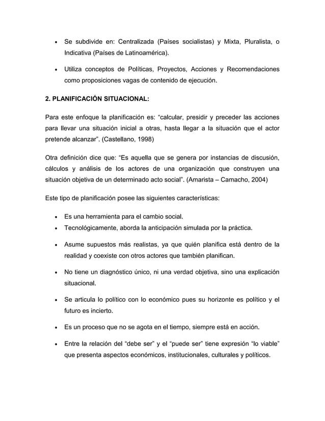 · Se subdivide en: Centralizada (Países socialistas) y Mixta, Pluralista, o  Indicativa (Países de Latinoamérica).  · Util...