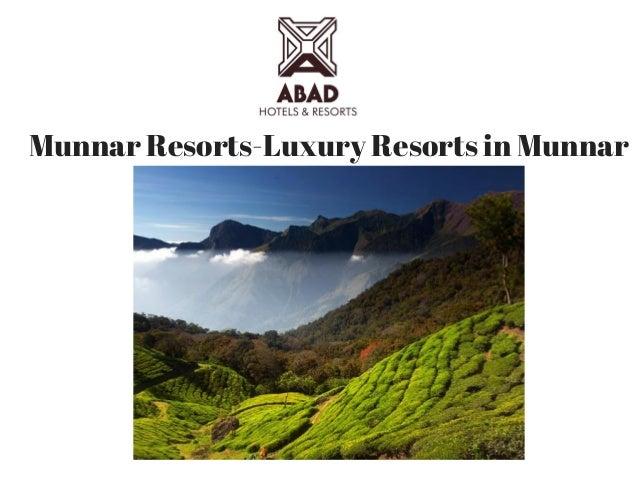 Munnar Resorts-Luxury Resorts in Munnar