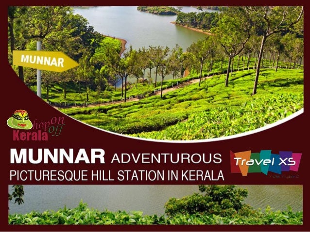 """Munnar literally means """"three rivers""""  in Tamil. Munnar hill station is nestled  in between the merging point of three  mo..."""