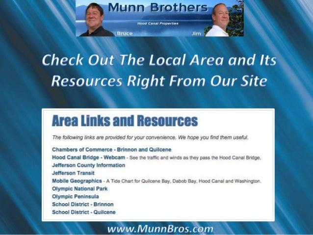 Munn Brothers Hood Canal Properties