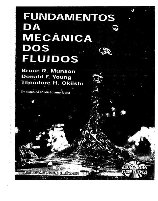 Munson mecanica dos fluidos livro 4th