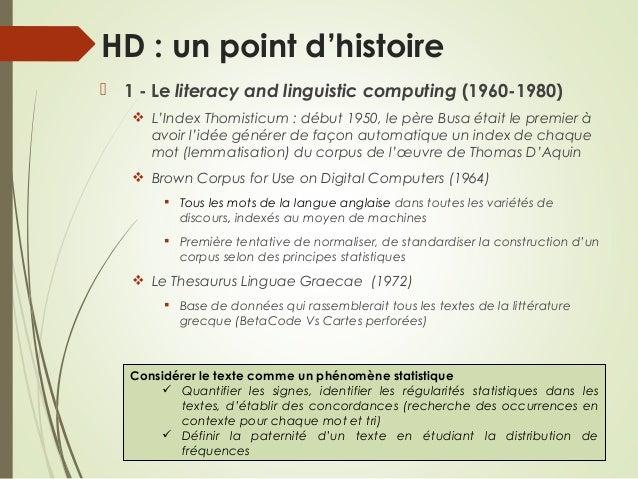 TEI & Humanités digitales Slide 3