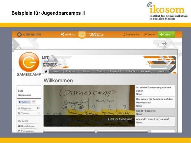 Beispiele für Jugendbarcamps III