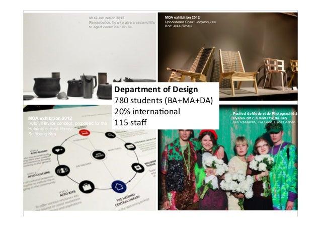 Muotoiluagentit 24.10 -Tuuli Mattelmäki- Muotoilun tutkimuksessa on tekemisen meininki  Slide 2