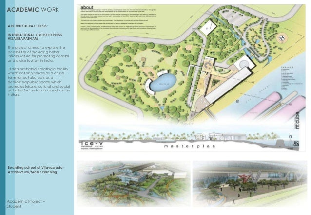thesis portfolio architecture The 46-year-old briton's latest projects—whether london's garden bridge, new york's pier 55, or google's new headquarters—are making him the most talked.