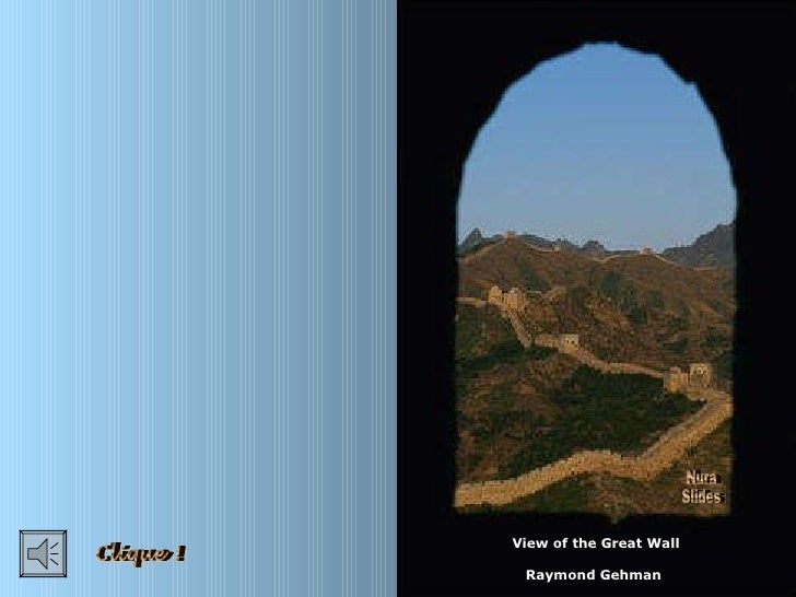 View of the Great Wall Raymond Gehman Nura Slides Clique !