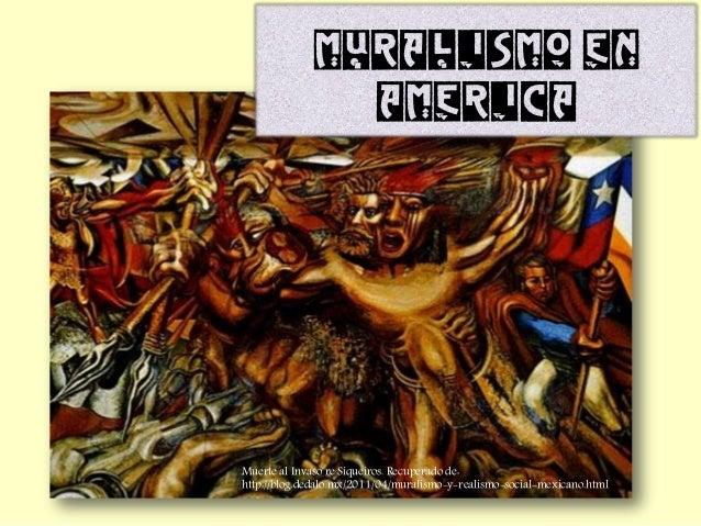 Muralismo En America