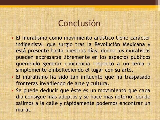 Muralismo Conclusion