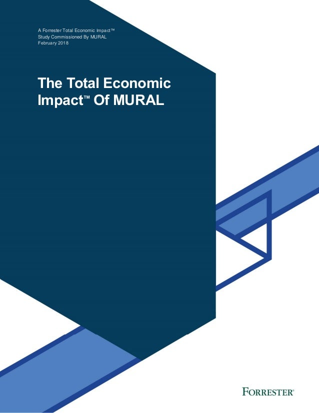 A Forrester Total Economic Impact™ Study Commissioned By MURAL February 2018 The Total Economic Impact™ Of MURAL