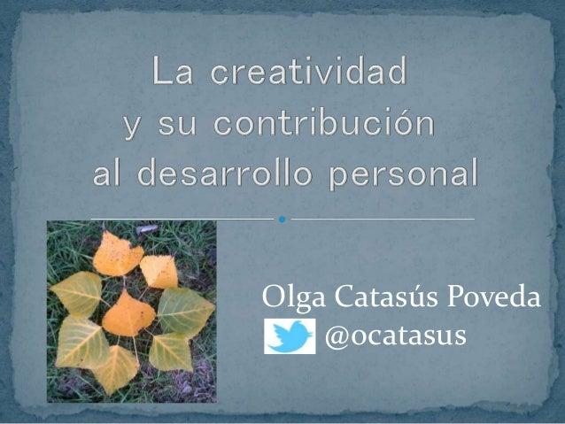 Olga Catasús Poveda @ocatasus