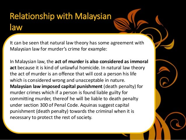 natural law in malaysia We are malaysian law firm specialising in shipping and admiralty law, marine insurance claims, maritime disputes, ship arrest, legal trade contracts.